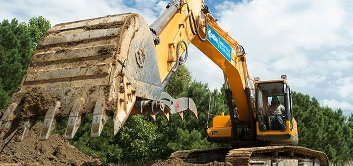 Crawler excavators - Collé Rental & Sales