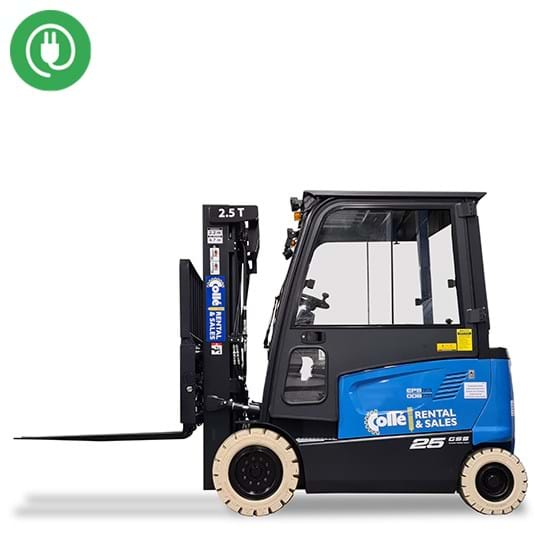 Forklift 1.5 tons electric (cabin)