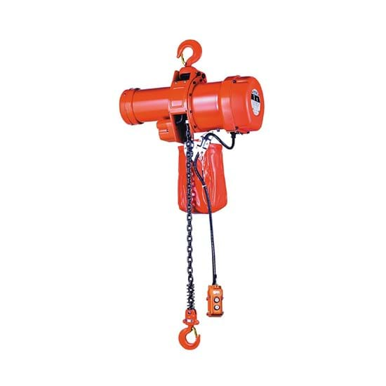 Chain hoists electrical
