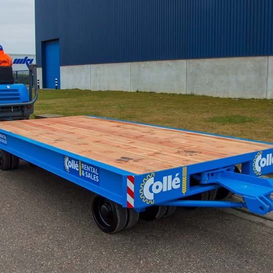 Heavy duty trailer 30t - 2ws