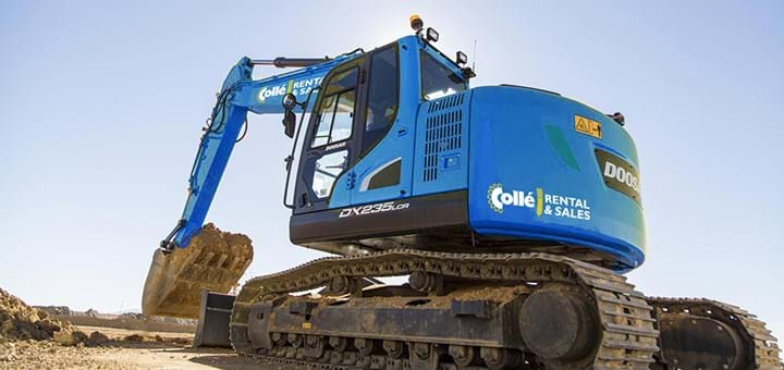 Crawler excavators - Collé Rental & Sales